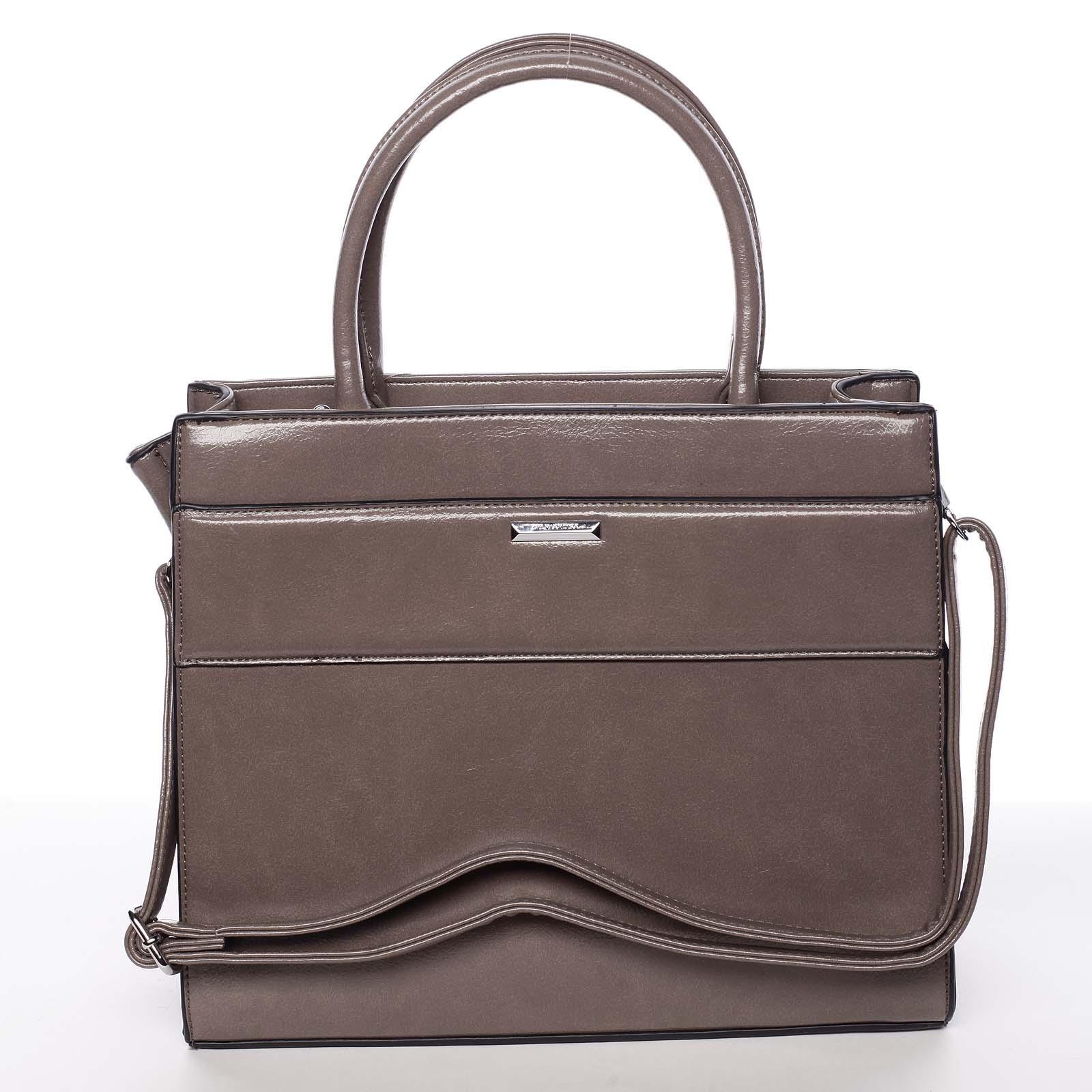Dámska piesková atraktívna kabelka - Silvia Rosa Selena