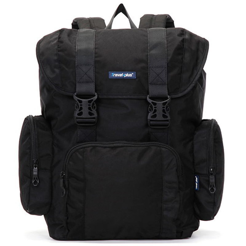Veľký čierny cestovný batoh - Travel plus 7503