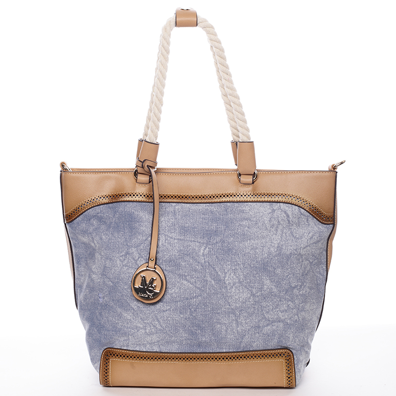 Jedinečná dámska kabelka cez rameno modrá - MARIA C Janelle modrá