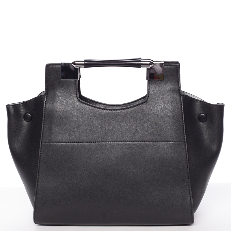 Moderná dámska kabelka do ruky čierna - Tommasini Marisa čierna