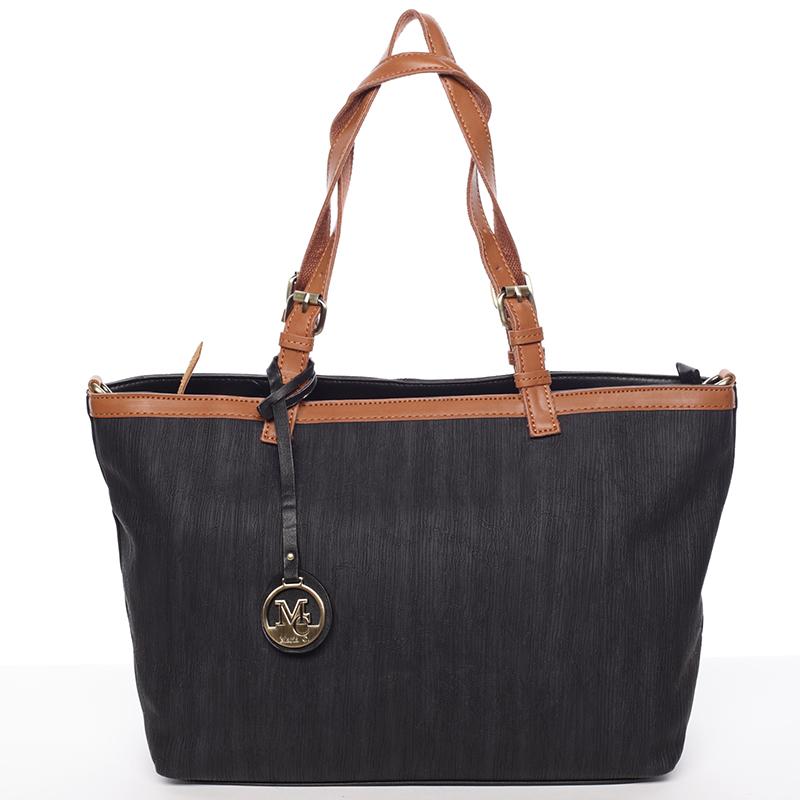 Módna dámska kabelka cez rameno čierna - MARIA C Itzel čierna
