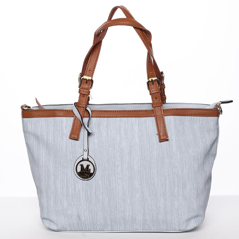 Módna dámska kabelka cez rameno modrá - MARIA C Itzel modrá