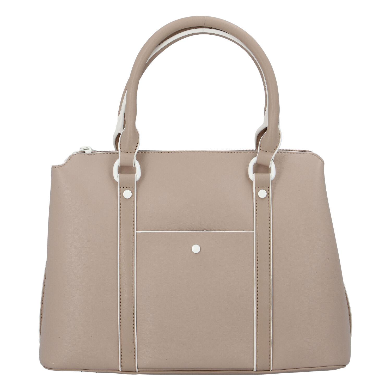 Dámska kabelka do ruky tmavobéžová - DIANA & CO Cerendy béžová