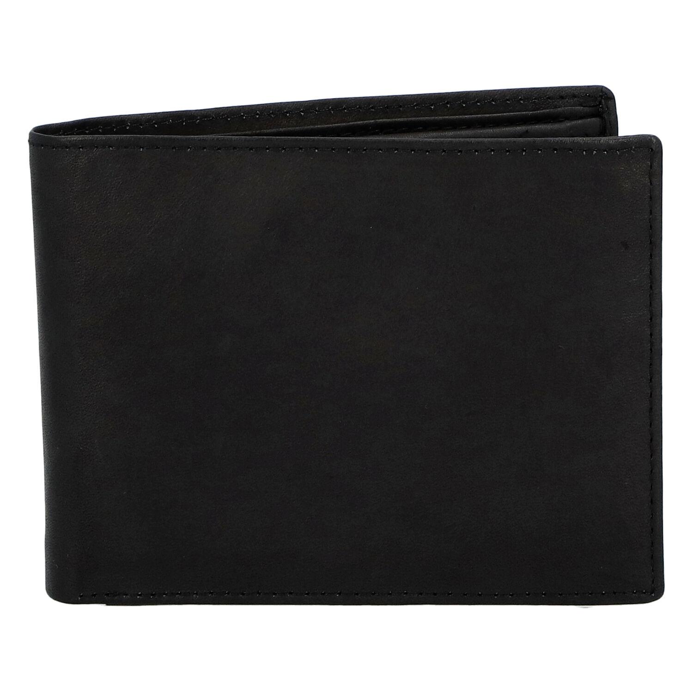Pánska kožená peňaženka čierna - Diviley Marek čierna