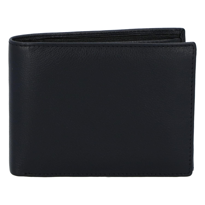 Kožená pánska čierna peňaženka - ItParr čierna