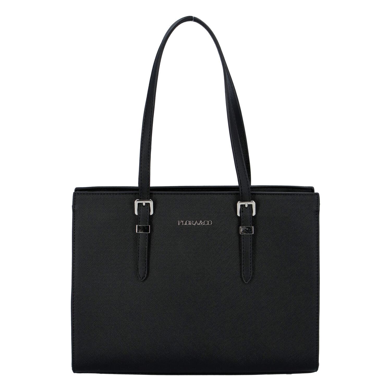 Dámska kabelka cez plece čierna - FLORA&CO Sanifa čierna