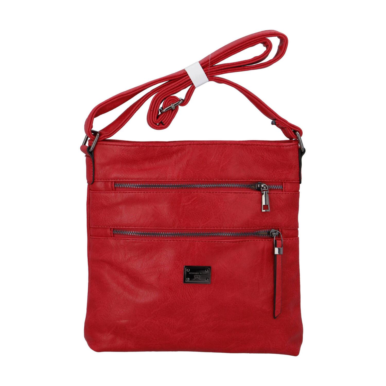 Dámska crossbody kabelka červená - Romina Chiara červená