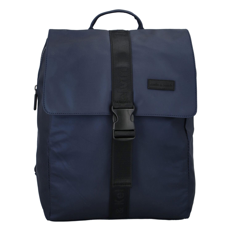 Pánsky športový batoh tmavomodrý - Justin & Kelvin Carl tmavo modra