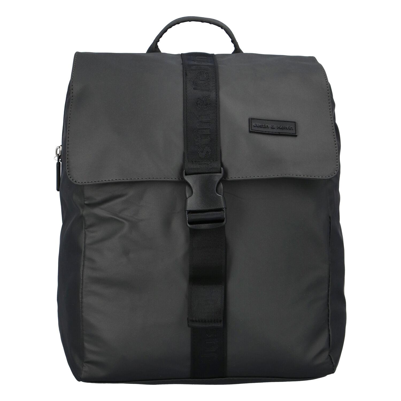 Pánsky športový batoh tmavosivý - Justin & Kelvin Carl šedá
