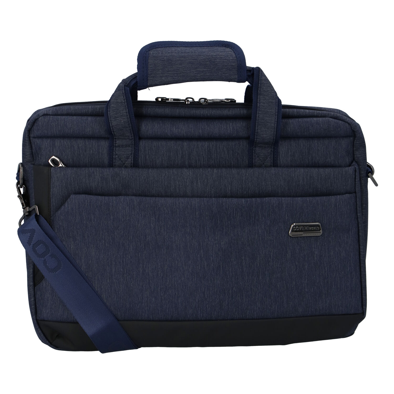 Tmavomodrá taška na notebook - Coveri Piurles tmavo modra