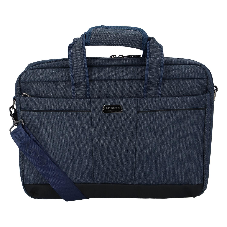 Modrá taška na notebook - Coveri Gulius modrá