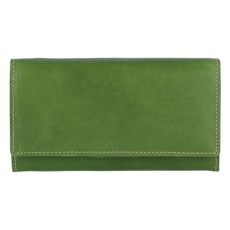 Dámska kožená peňaženka zelená - Tomas Kalasia zelená