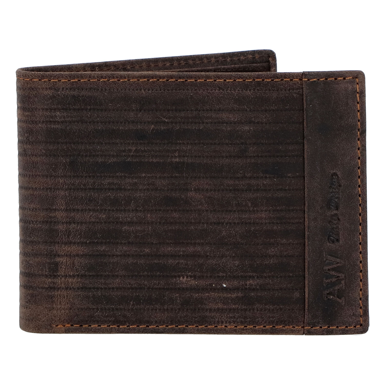 Pánska kožená peňaženka hnedá - WILD Rialto hnedá