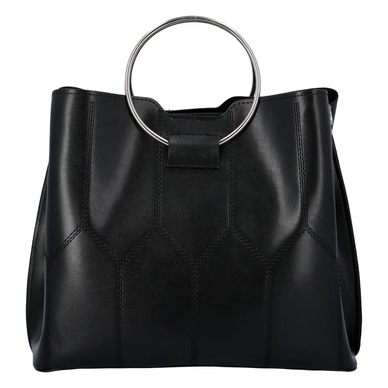 Luxusná dámska kabelka čierna - Delami Gracelynn čierna