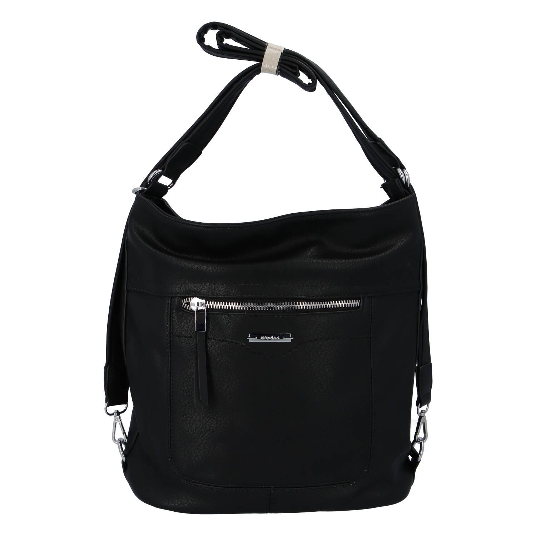 Dámska kabelka batoh čierna - Romina Wamma čierna