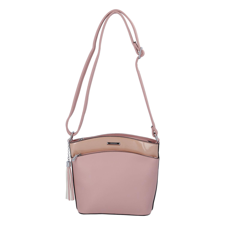Dámska crossbody kabelka ružová - Silvia Rosa Barbie ružová