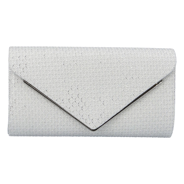 Originálna dámska listová kabelka bielá - Michelle Moon HL442 biela