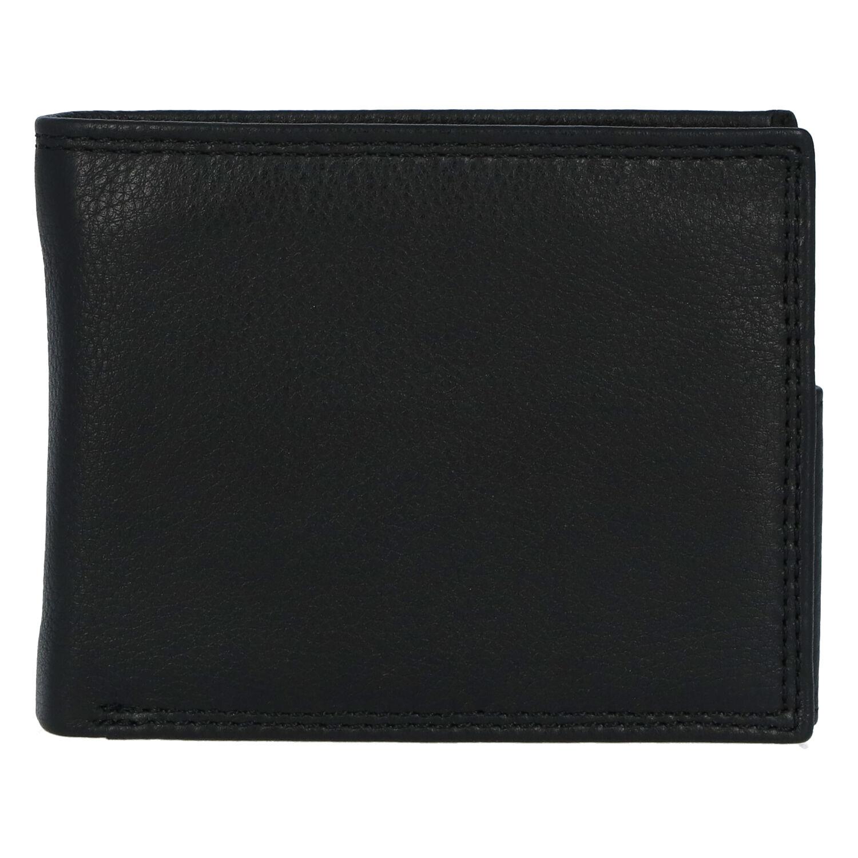 Kožená pánska čierna peňaženka - ItParr New čierna