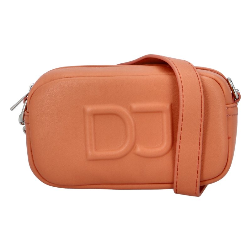 Malá dámska crossbody kabelka oranžová - David Jones SannJary oranžová