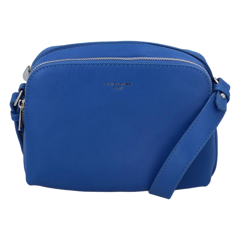 Dámska crossbody kabelka kráľovský modrá - David Jones Beatrio modrá