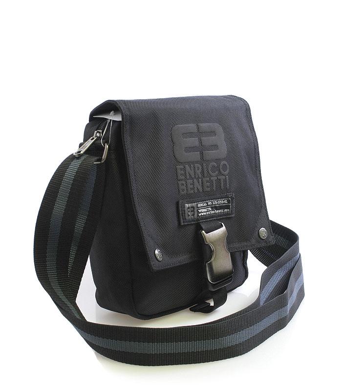 Čierna taška na doklady Enrico Benetti 4478 čierna