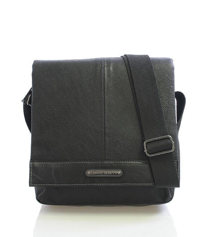 Čierna taška na doklady Enrico Benetti 4482 čierna