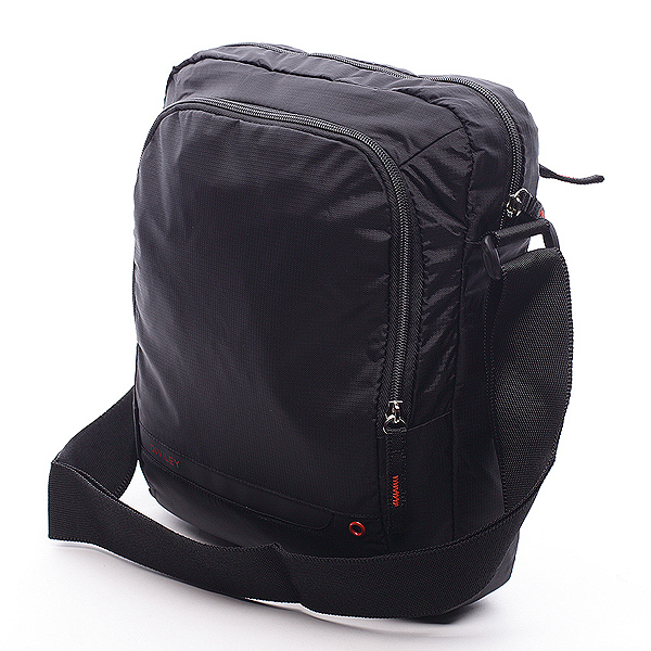 Čierna taška cez rameno Diviley Rourke čierna