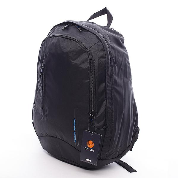 Pánsky batoh čierny - Diviley Rendy čierna
