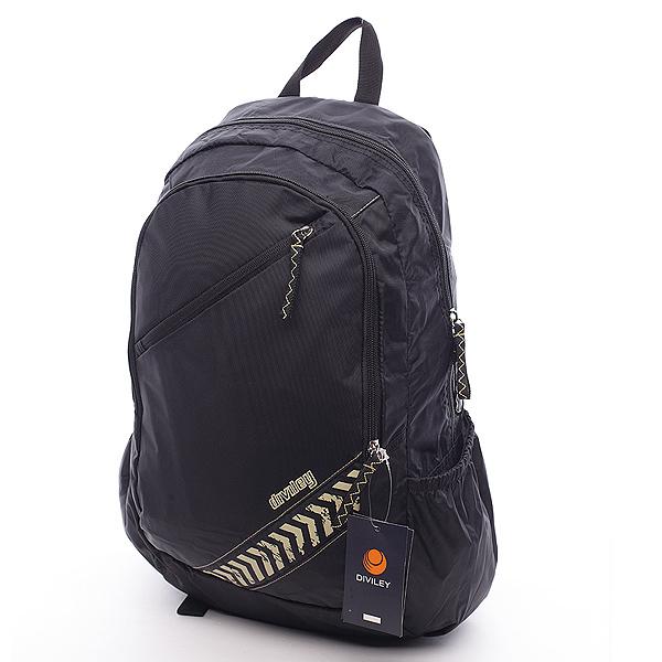 Pánsky batoh čierny - Diviley Andy čierna