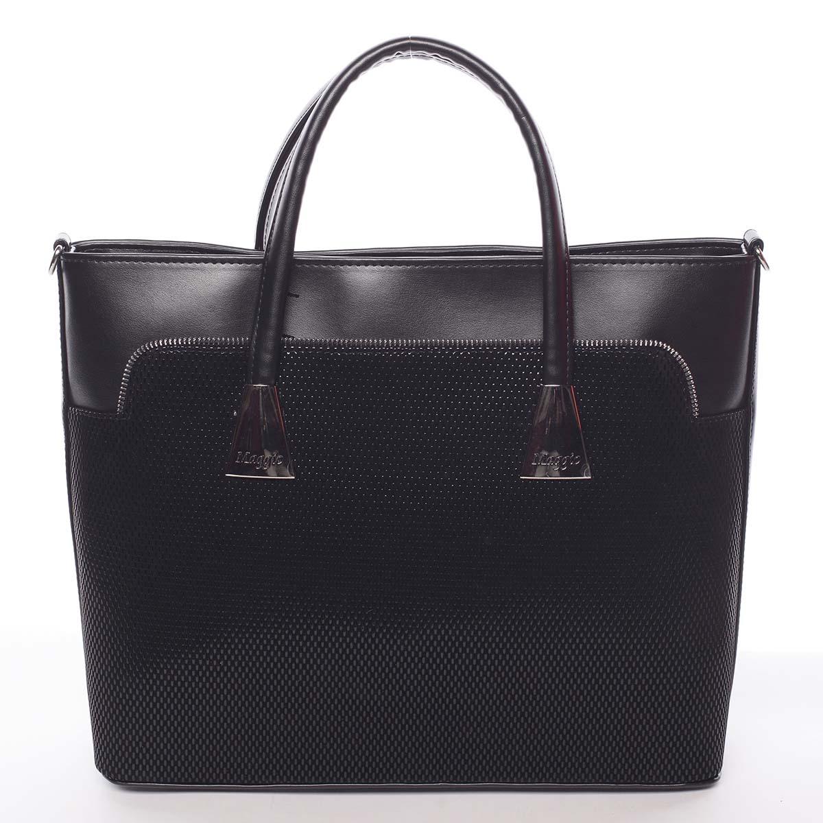 Dámska luxusná kabelka čierna - Maggio Landry čierna