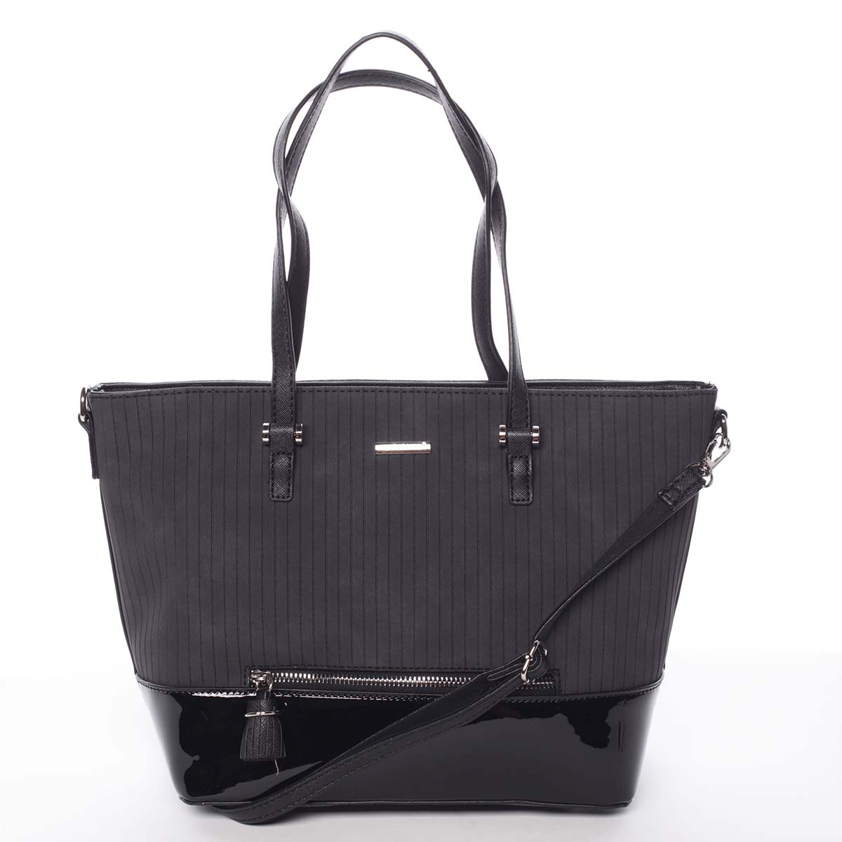 Originálna dámska čierna kabelka - David Jones Breanna čierna