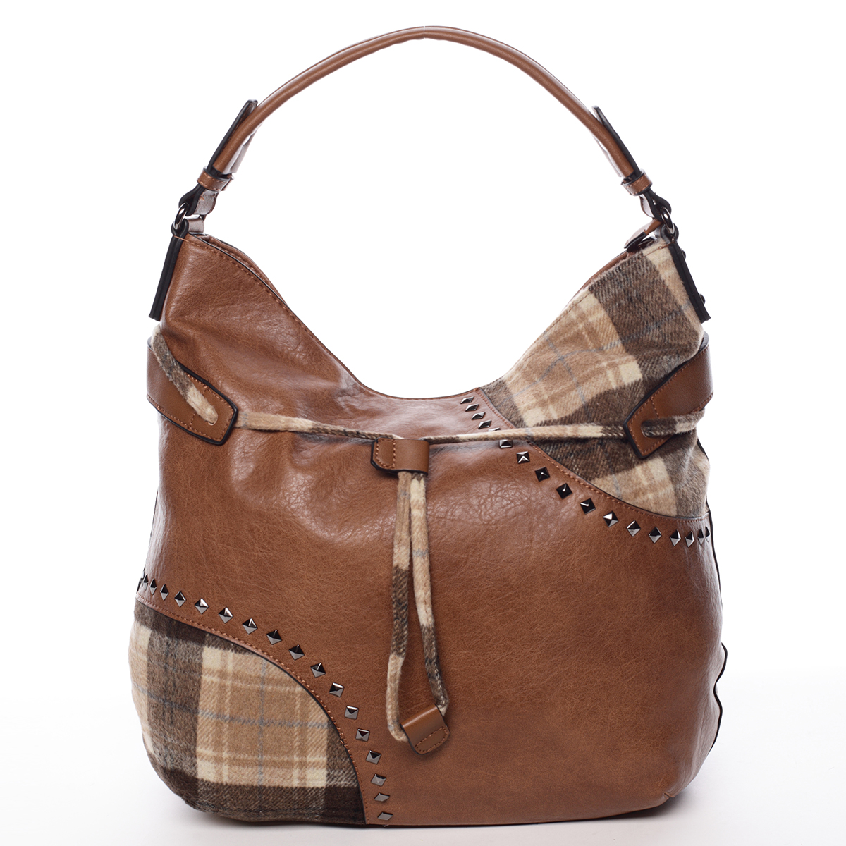 Originálna dámska kabelka hnedá - MARIA C Skyler hnedá