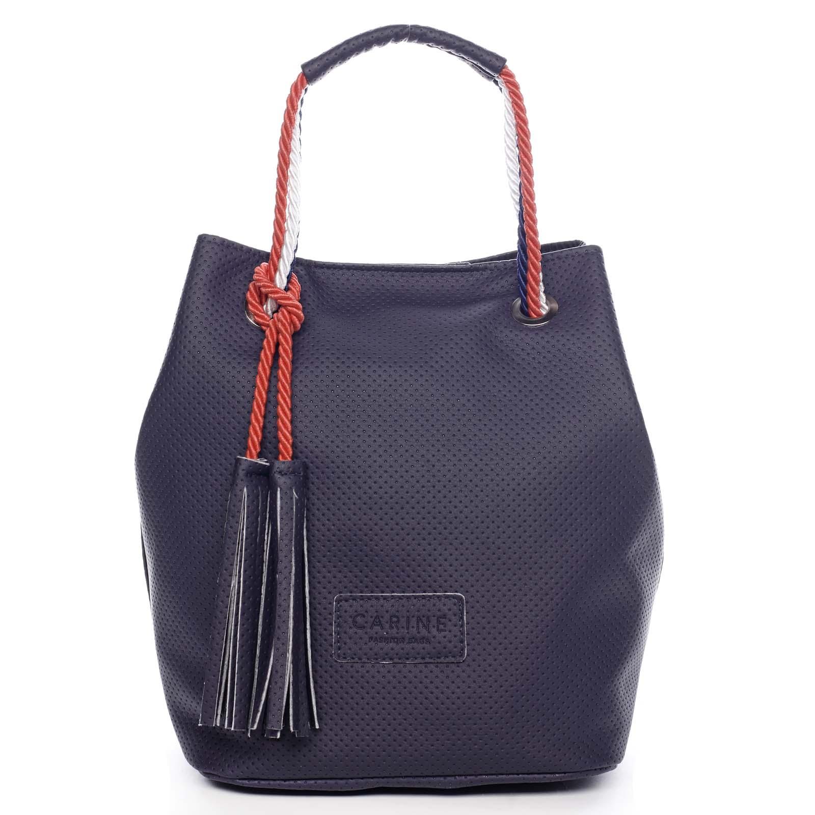 Dámska kabelka tmavomodrá - Carine C2000 tmavo modra