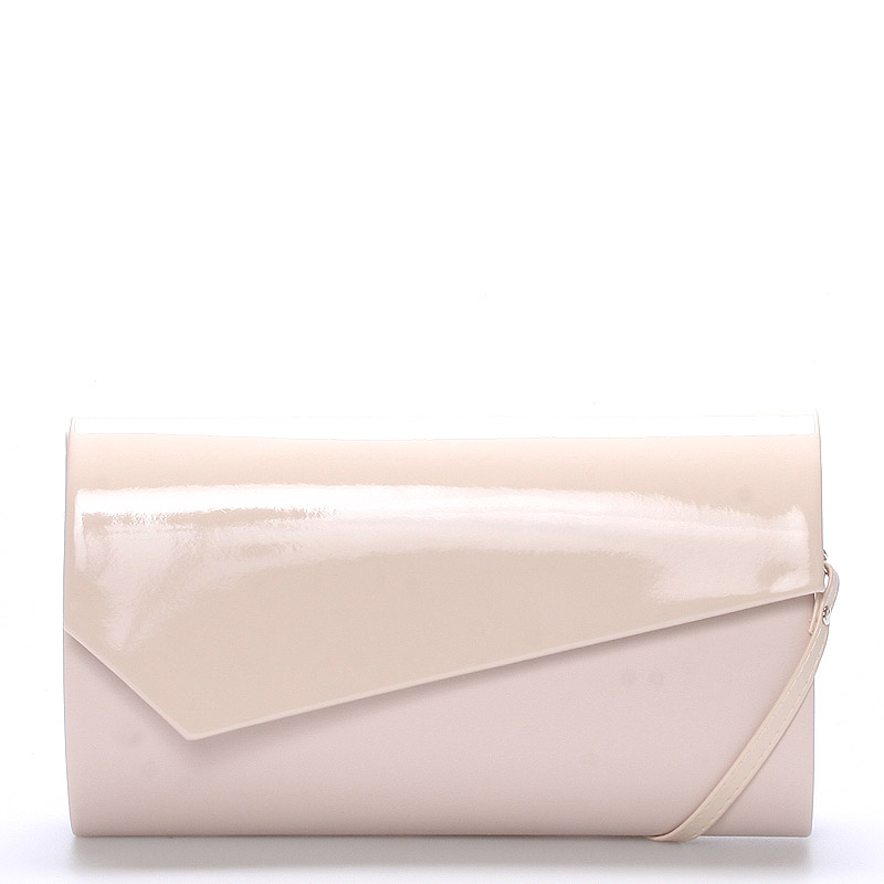 Veľká štýlová dámska listová kabelka púdrová matná - Delami Charlien ružová