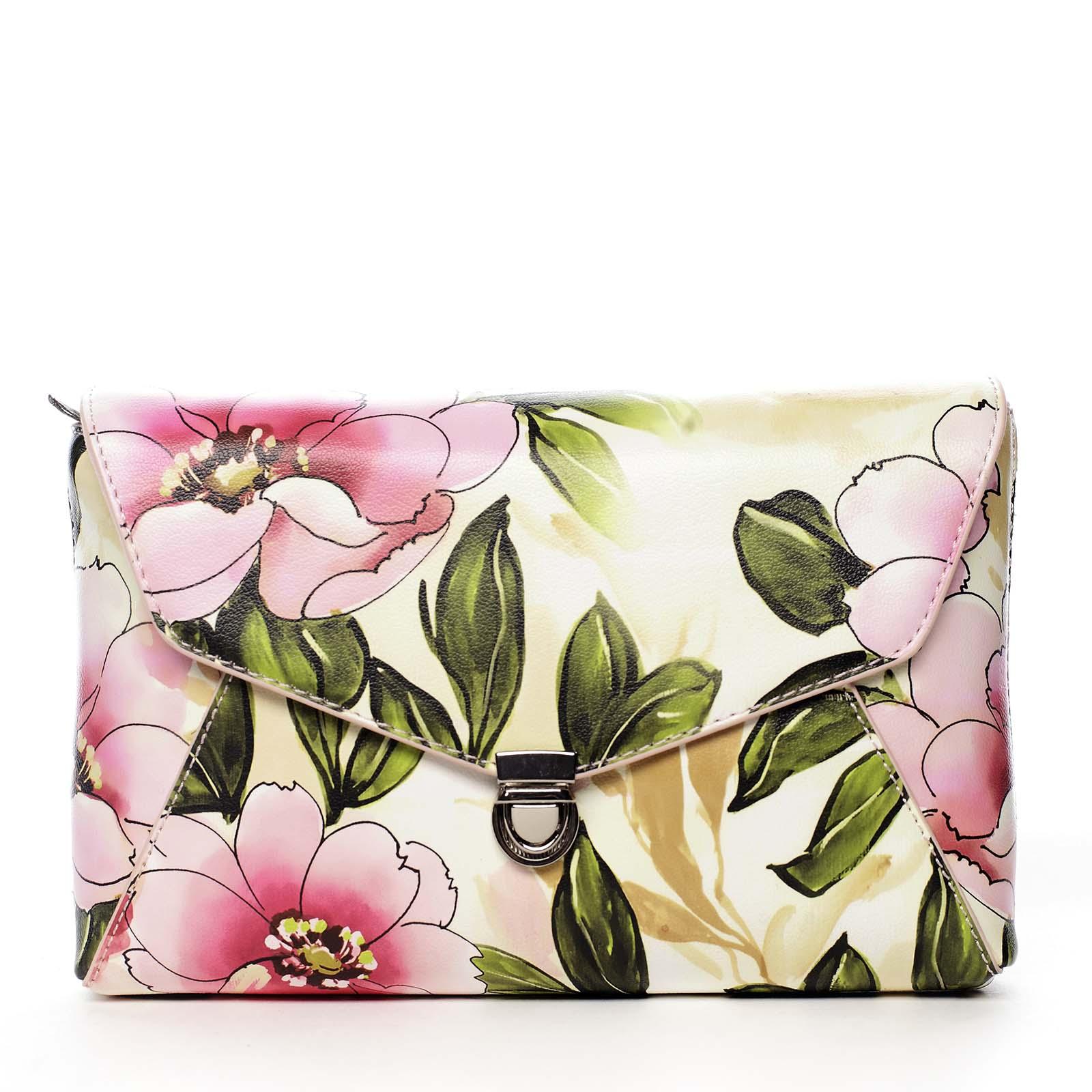 Dámska crossbody kabelka ružová - DIANA & CO Rozária ružová
