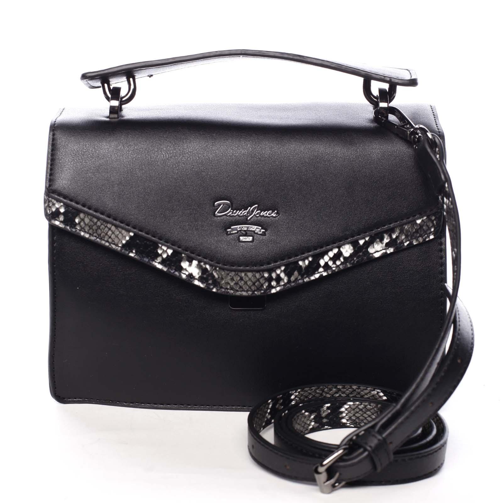 Dámska kabelka do ruky čierna - David Jones Scarlett čierna