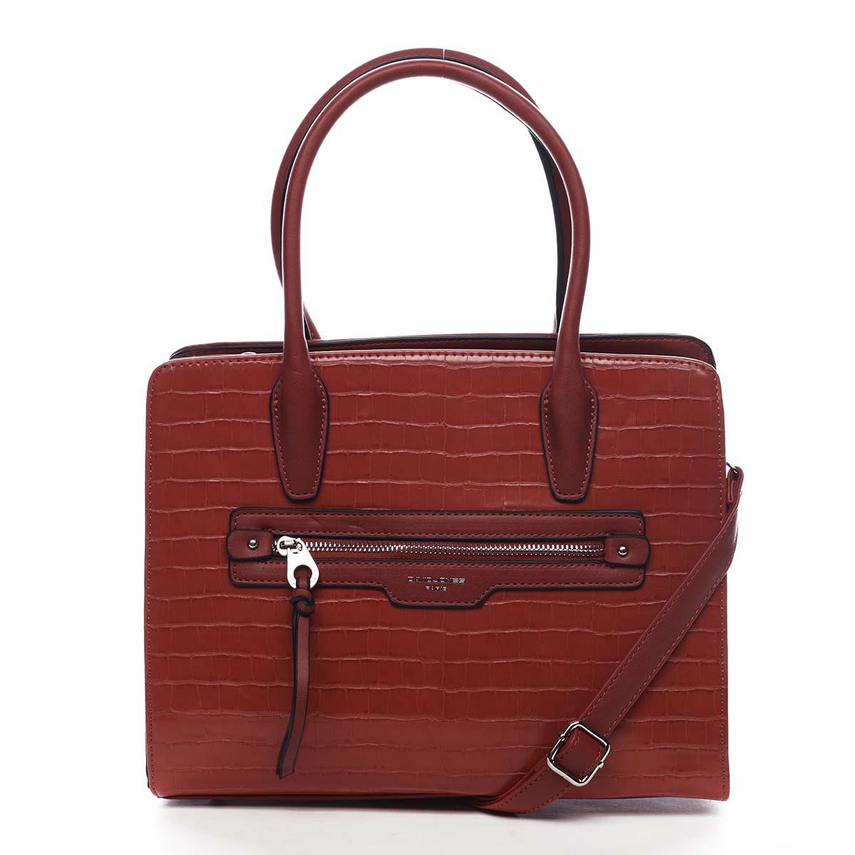 Dámska kabelka červená - David Jones Camille červená