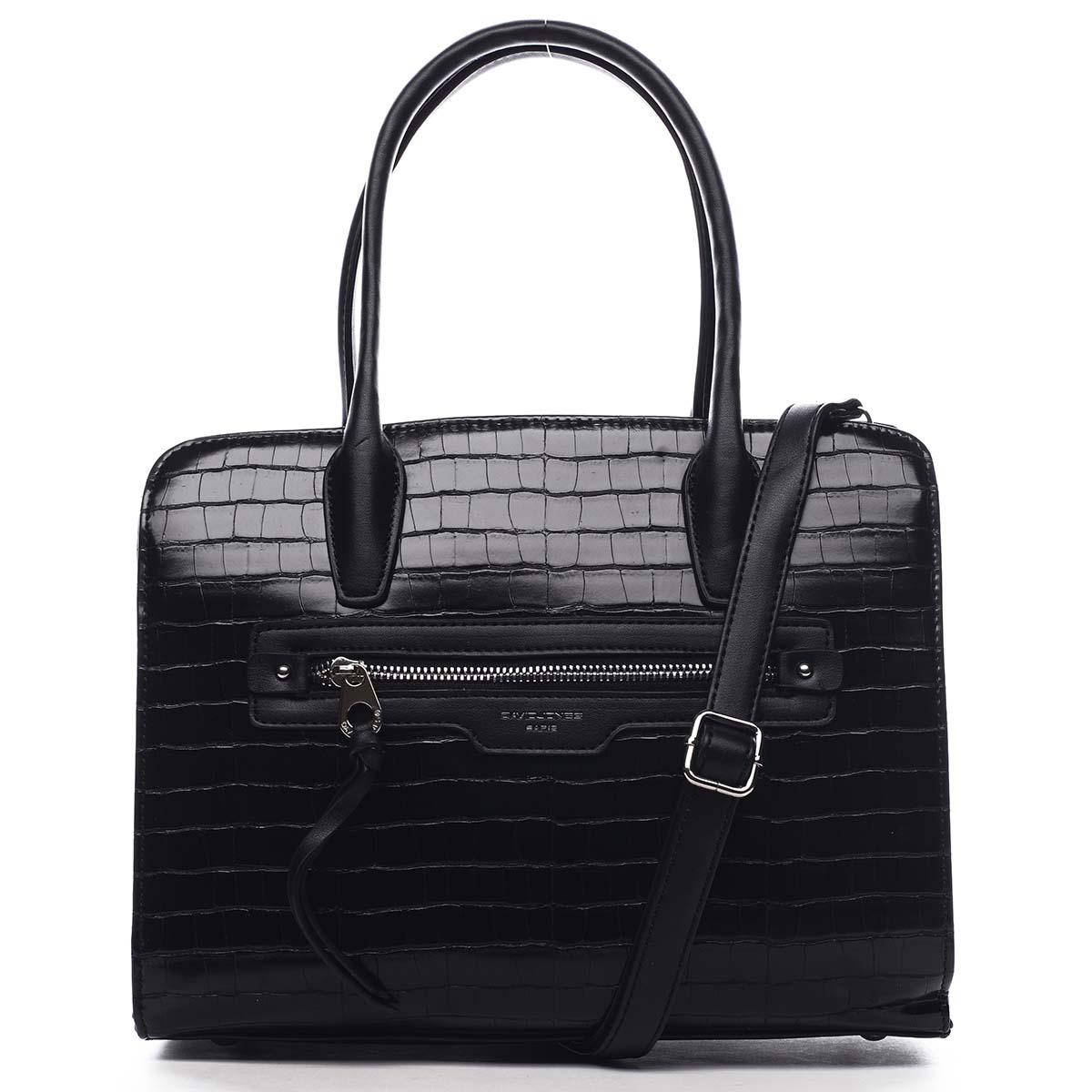 Dámska kabelka čierna - David Jones Camille čierna