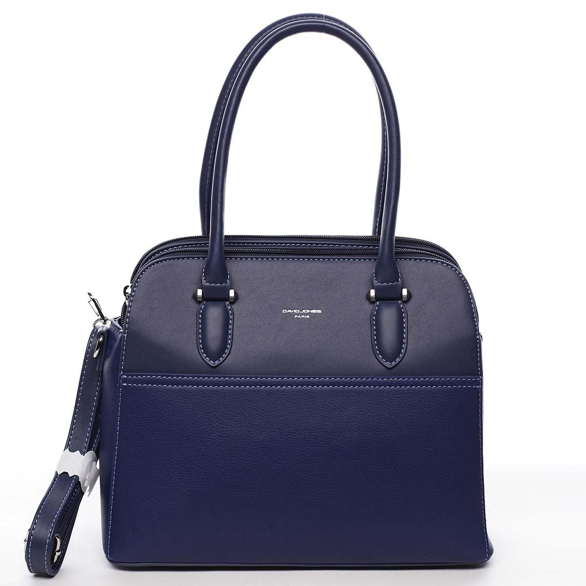 Dámska kabelka cez rameno tmavo modrá - David Jones Lalapona tmavo modra
