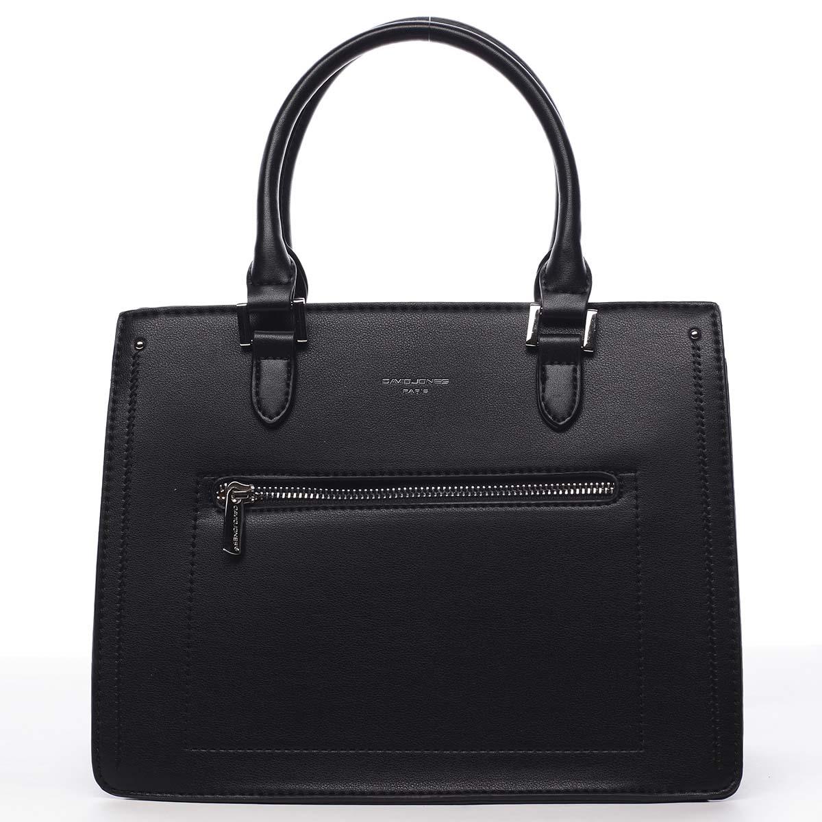 Dámska kabelka do ruky čierna - David Jones Samentha čierna
