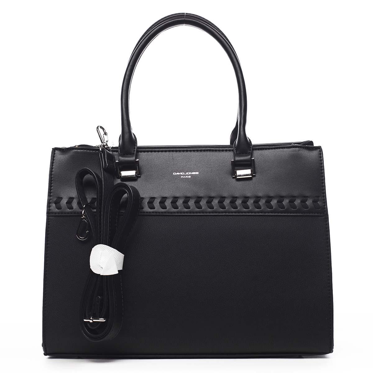 Dámska kabelka do ruky čierna - David Jones Tosmal čierna