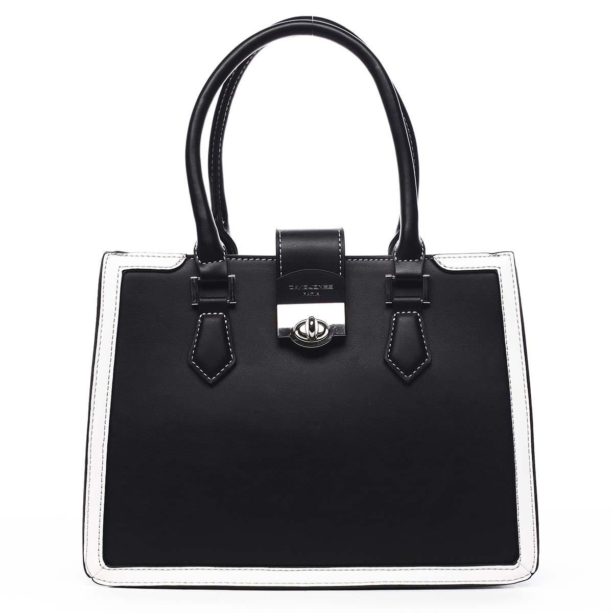 Dámska kabelka čierna - David Jones Rules čierna