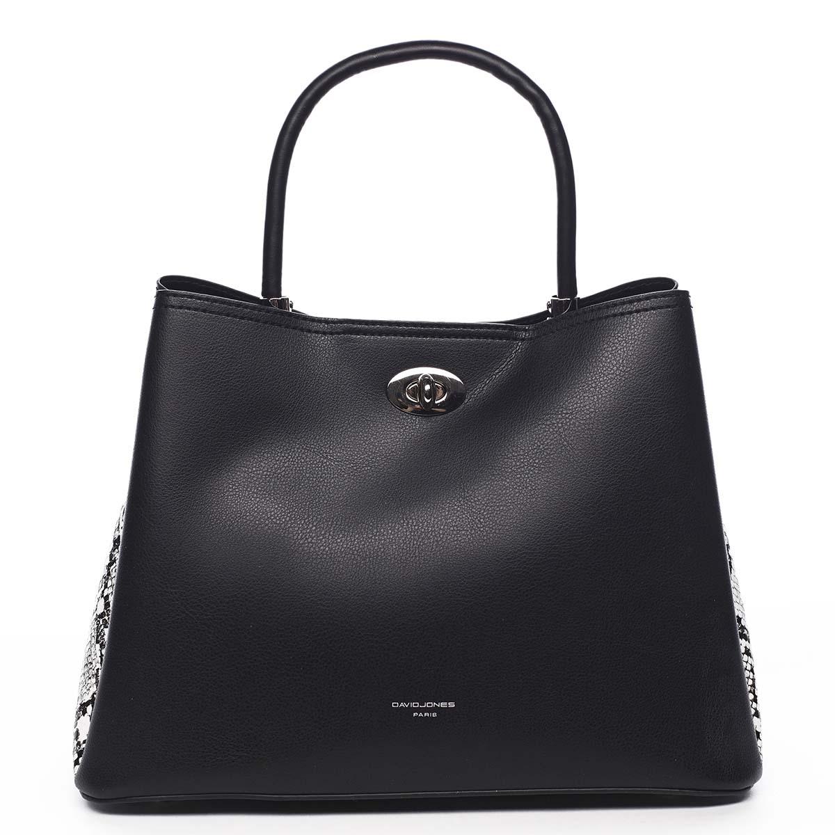 Dámska kabelka čierna - David Jones Prestique čierna