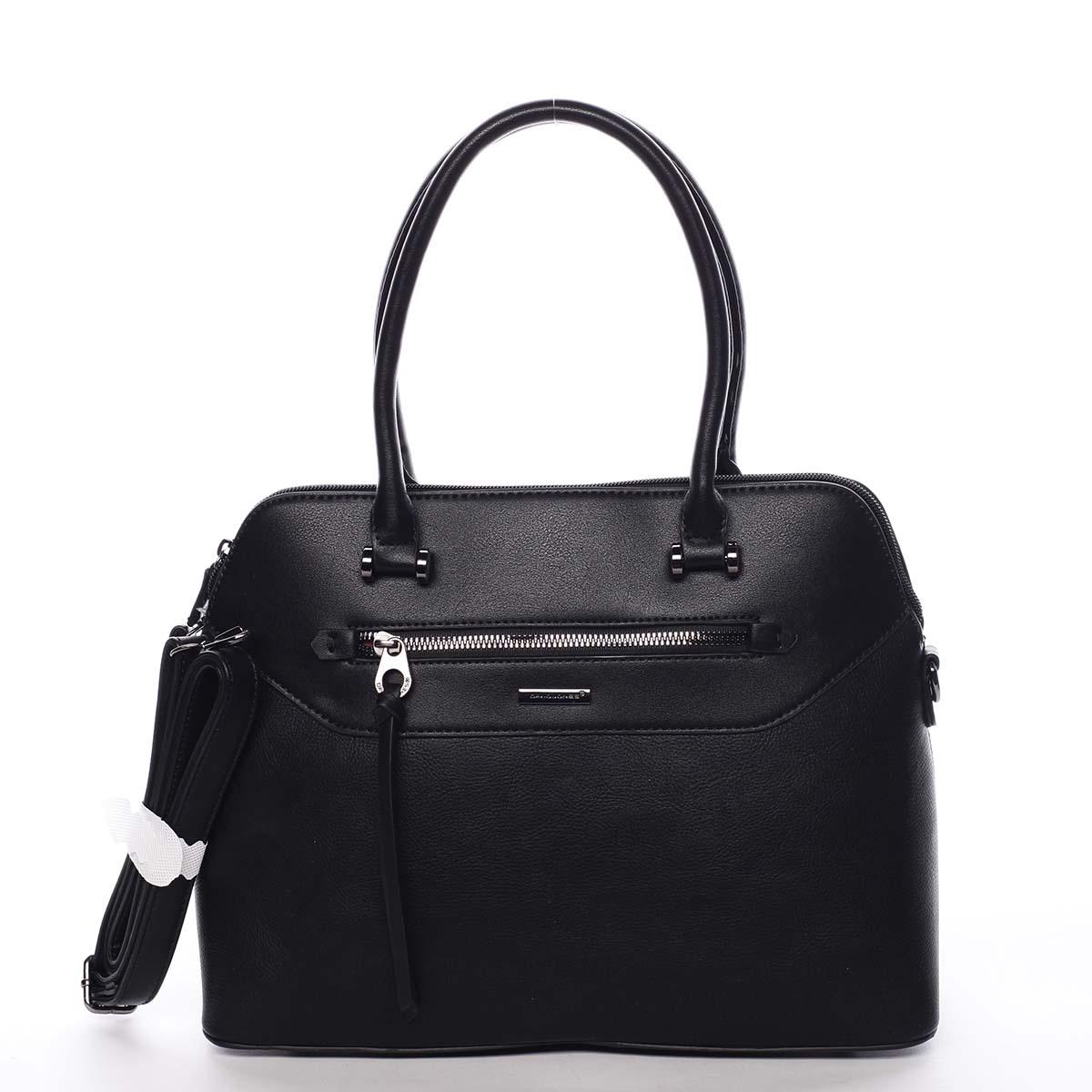 Dámska kabelka čierna - David Jones Evania čierna