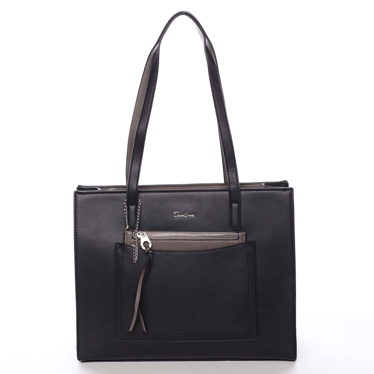 Dámska kabelka cez rameno čierna - David Jones Cara čierna
