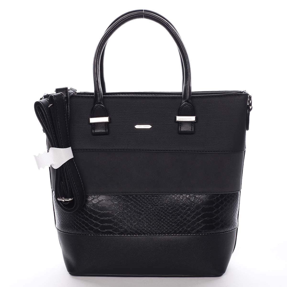 Dámska kabelka čierna - David Jones Geeta čierna