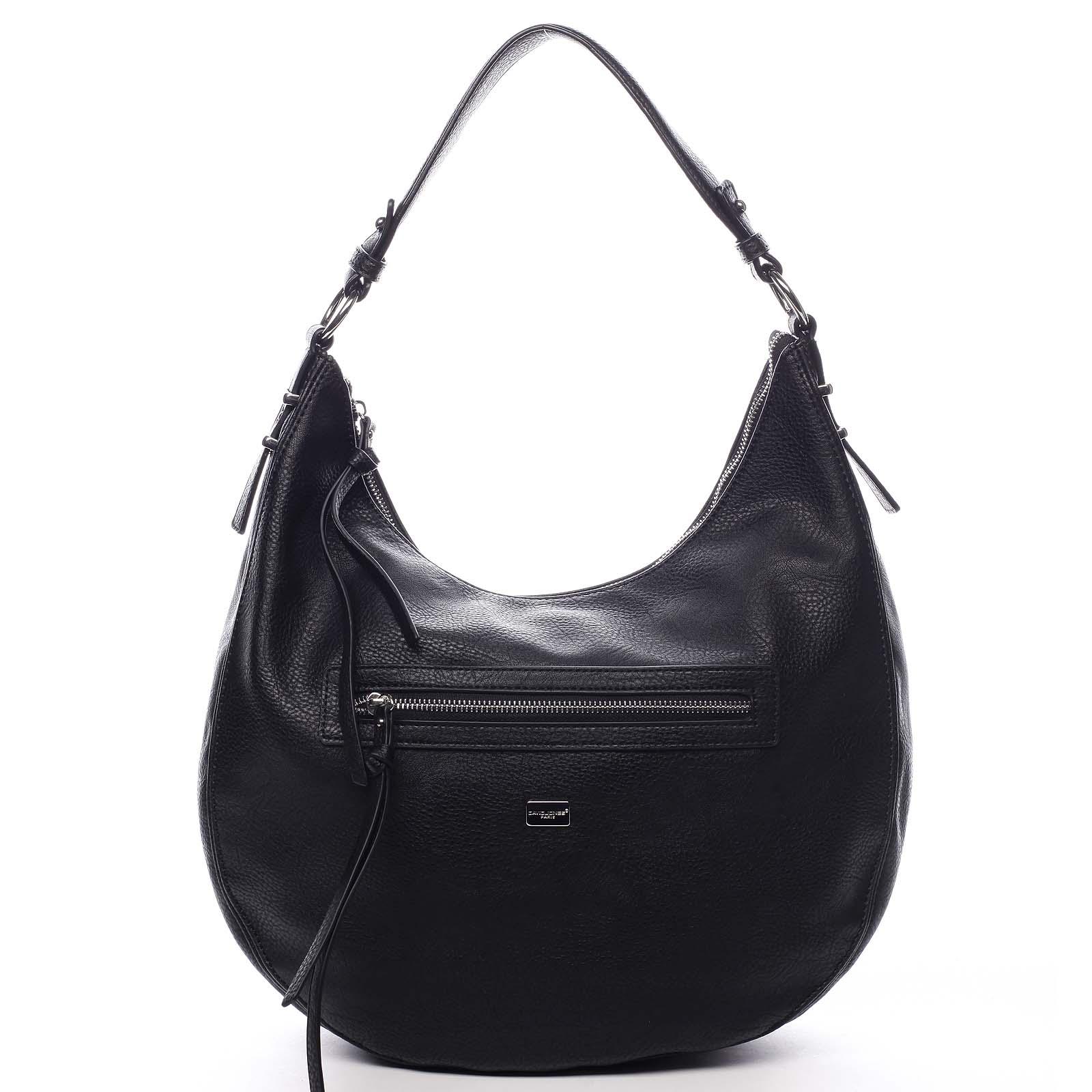 Dámska kabelka cez rameno čierna - David Jones Egma čierna
