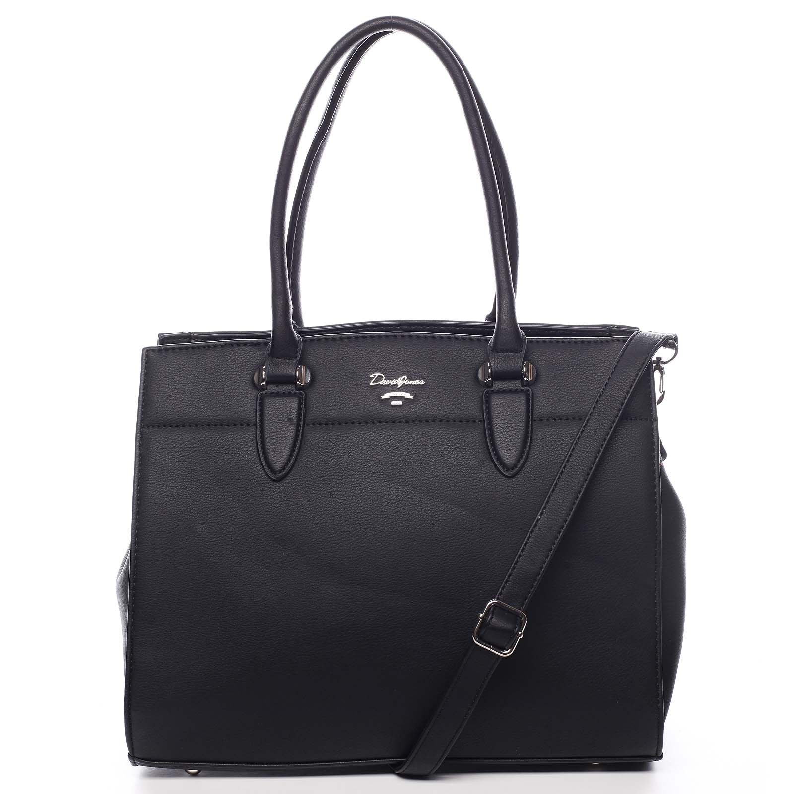 Dámska kabelka čierna - David Jones Toya čierna