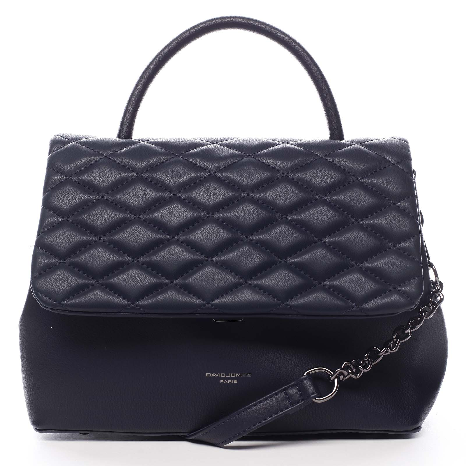 Dámska kabelka do ruky tmavo modrá - David Jones NoWay modrá