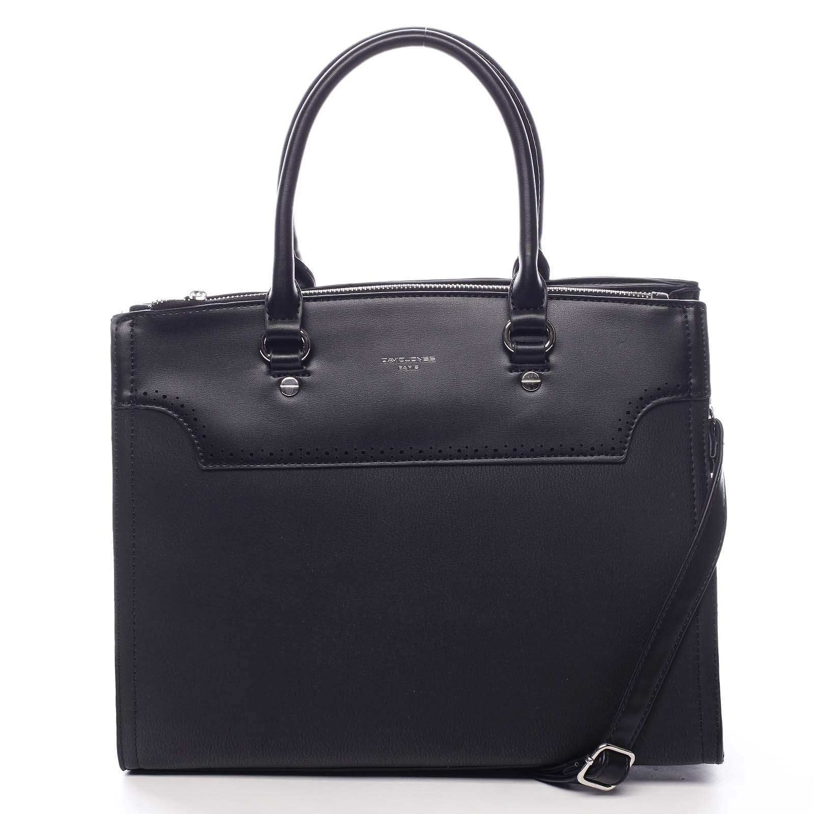 Dámska kabelka čierna - David Jones Cimberly čierna